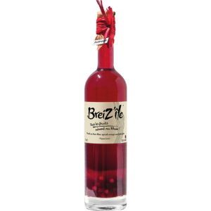 RHUM FRUITS ROUGES 23%<br>Breizh'île.